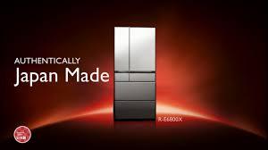 is lexus japanese made hitachi made in japan refrigerator youtube