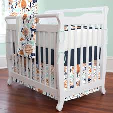 Navy Blue And White Crib Bedding Set Bed Gray And White Nursery Bedding Nursery Bed Linen Blue Crib