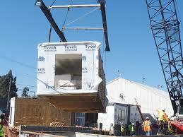 modular unit haciendas phase iii modular unit installation breaks ground city