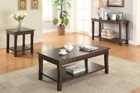 modern rectangular console table by poundex f6315 huntington
