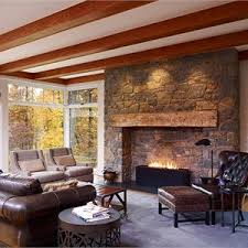 CountryRustic Country Living  Family Room Photos - Country family room