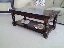 furniture vintage round wooden coffee table plus wrought iron