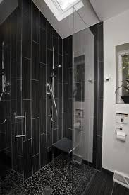 bathrooms with freestanding tubs mens bathroom decor gray shower curtain polished wooden floor