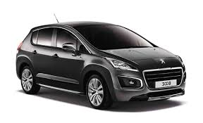 peugeot 3008 2017 black revitalized peugeot 3008 drives around manille in search of