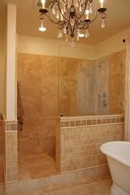 small shower also not a bad idea for the master shower could re