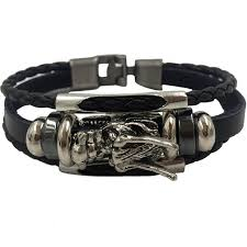 bracelet homme images Bracelet men homme 2018 tibetan silver men leather bracelet jpg