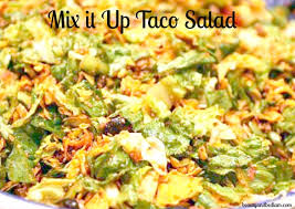 taco salad great meal for large groups