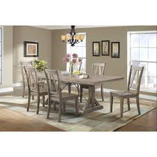 picket house furnishings flynn 7pc dining set table u0026 6 wooden