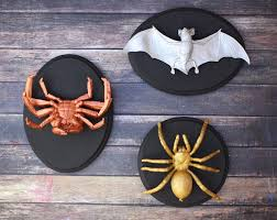 diy halloween decorations creepy faux taxidermy ideas kit kraft