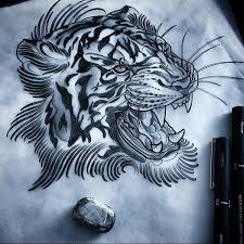 150 best tiger tattoos and meanings april 2018