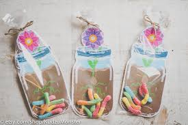 jar party favors jar party favors for gummy worms printable diy jar