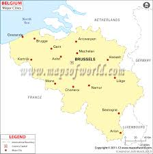 belgium city map belgium cities map cities in belgium