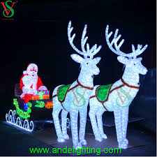 large outdoor reindeer light large outdoor
