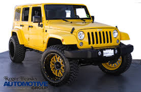 jeep yellow yellow jeep wrangler in texas for sale used cars on buysellsearch