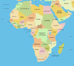 Map Of Africa Blank by Map Of Africa For Students Deboomfotografie