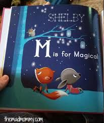 My Magic Name Personalised Story Books A Fab M Is For Me