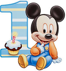 mickey mouse birthday baby mickey mouse birthday party 1 4 sheet