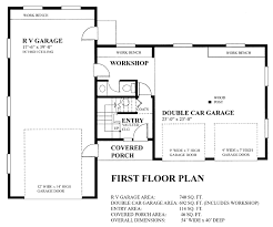 garage house floor plans garage plan 76023 at familyhomeplans