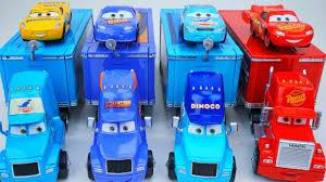 disney cars 3 haulers cruz races for dinoco cal weathers fired