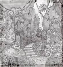 fantasy forest by natasha donovan1989 on deviantart