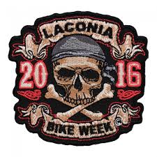 2016 laconia skull crossbones pirate event patch patchstop com