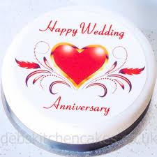 Happy Wedding U0026 Marriage Anniversary Wedding Anniversary Cake Messages