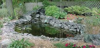 Backyard Fish Pond Kits Pond Kits U0026 Supplies Christensen U0027s Plant Center Plymouth