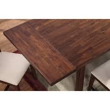 modus portland solid wood rectangular extension table medium modus portland solid wood rectangular extension table medium walnut walmart com