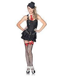 Mob Costumes Halloween Mafia Princess Black White Womens Costume
