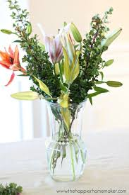 Good Vase How To Arrange Grocery Store Flowers The Happier Homemaker