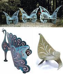 Butterfly Bench Modern Fantasy Yard 23 Magical Garden Furniture Items Urbanist