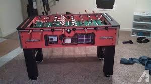 Wilson Foosball Table Snap On Foosball Table For Sale In Clarks Louisiana Classified