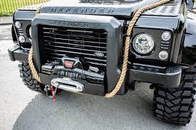 land rover defender engine ex james bond spectre land rover defender svx