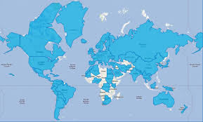 Algeria World Map January 2012 National September 11 Memorial U0026 Museum