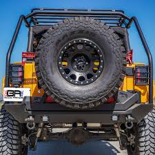 jeep body armor bumper body armor jk 6128 overlander knuckle joint rack system for 07 17