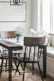 new breakfast nook chairs the wood grain cottage