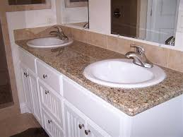 overmount sink on granite bath granite counter with drop in sinks google search kitchen