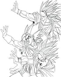 coloring pages dragon ball coloring pages dragon ball super