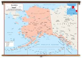 Map Of West Coast Political Map Of Alaska You Can See A Map Of Many Places On The