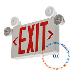 exit emergency light combo exit lights exit sign emergency light combos exit light co