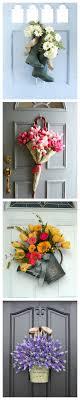 12 beautiful door decorations that aren t wreaths wreaths