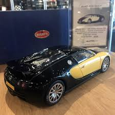 first bugatti veyron autoart 1 18 bugatti veyron 2009 first edition rare yellow black