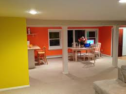 startling orange sun kissed yellow benjamin moore homelife