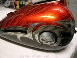 paint ideas for motorcycles al u0027s v star paint job orange candy