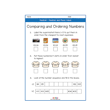 number and place value year 3 worksheets primary maths ks2