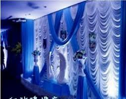 wedding backdrop drapes fashion wave backdrop drape for wedding party stage decoration