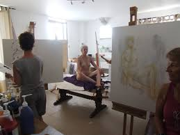 the human figure life drawing in beautiful italy vacaza