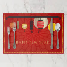 new year placemats new year placemats zazzle