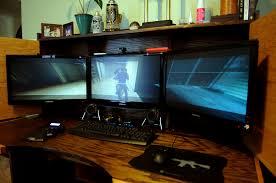 hide a geek desk l4d2 runs fantastically on eyefinity i h u2026 flickr