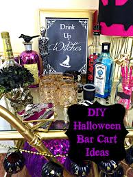 Halloween Party Ideas For A Bar by Halloween Bar Cart Ideas Halloweenbarcart Halloweenparty